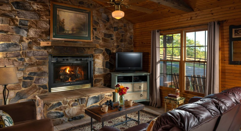 Stay at our romantic cabins in Virginia this winter!