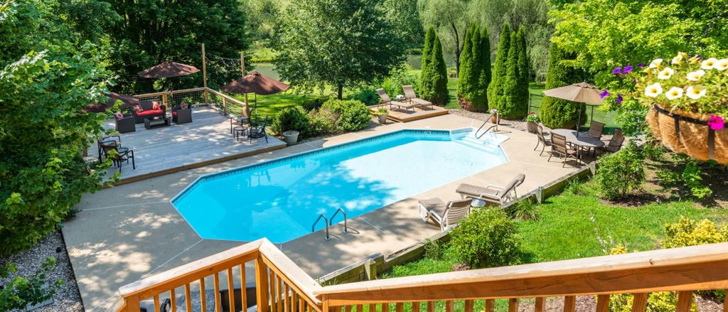 After visiting the best breweries near Staunton VA, relax and unwind in our pool, or with a cold local beer on our deck!