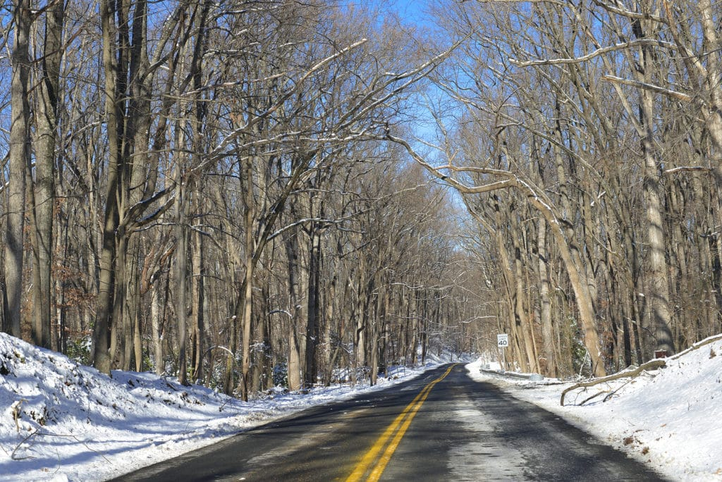 Visit the Shenandoah National Park this winter when you stay at our romantic cabins in Virginia