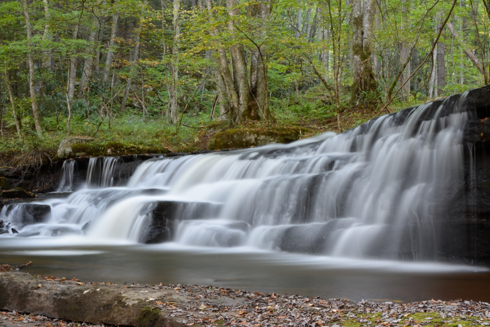 Crabtree Falls VA isn't the only waterfall worth seeing in the Blue Ridge Mountains