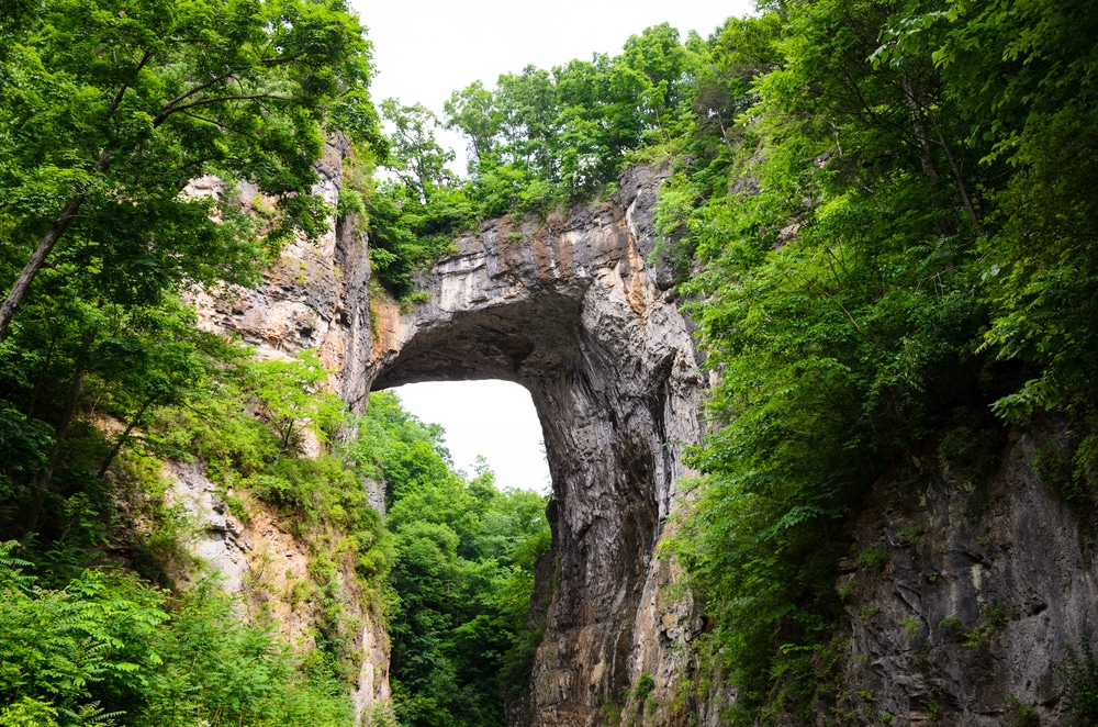 Take a hike in Natural Bridge State Park in VA